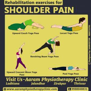 Rehabilitation Exercises of Shoulder Pain   Treatment of Shoulder Pain